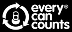 Every Can Counts reversed out logo
